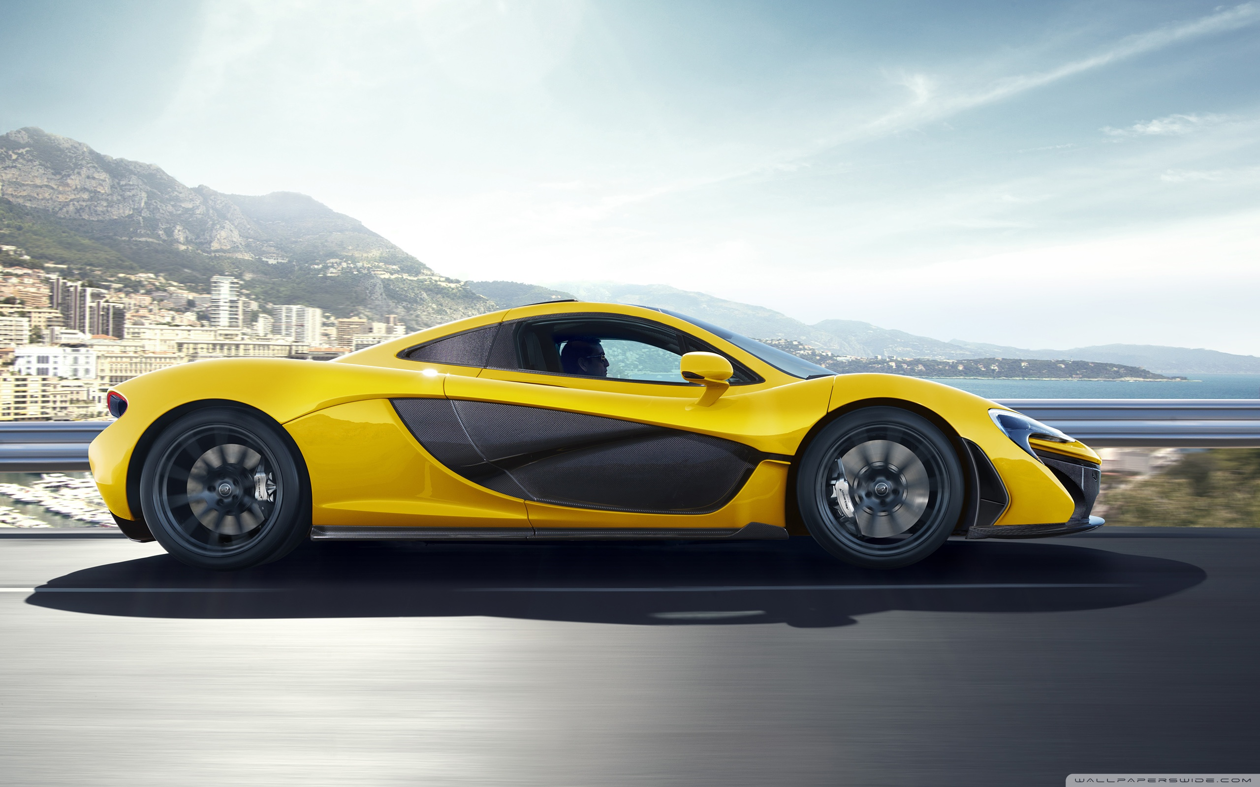 2014 Mclaren P1 Side View 4k Hd Desktop Wallpaper For 4k Ultra Hd