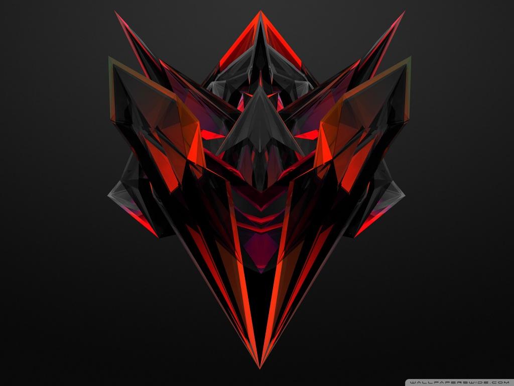 Hd Rog Wallpaper Abstract Red Ultra Hd Desktop Background Wallpaper For