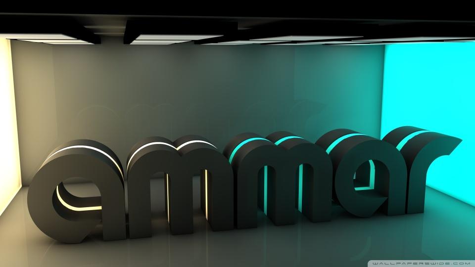 3d Amar Name Wallpaper Ammar 4k Hd Desktop Wallpaper For 4k Ultra Hd Tv Wide
