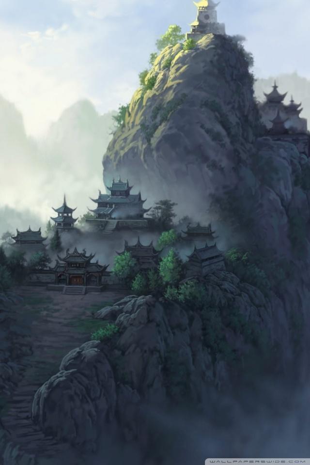 Hd Wallpaper Japanese Girl Ancient Japanese Temples Ultra Hd Desktop Background