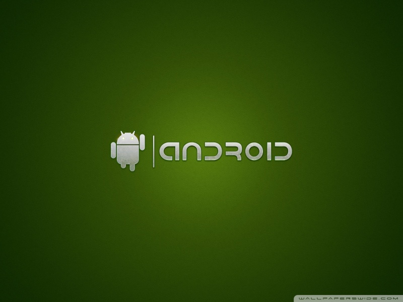 android logo green 4k