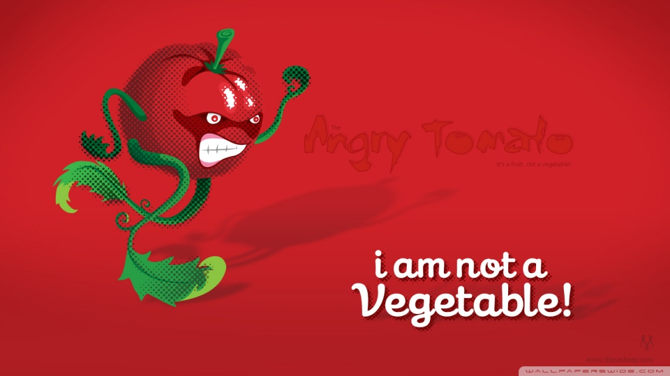 Angry Tomato 4k Hd Desktop Wallpaper For 4k Ultra Hd Tv