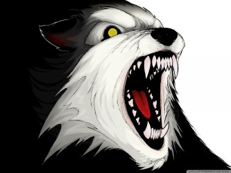 Angry Wolf Ultra HD Desktop Background Wallpaper for : Tablet : Smartphone