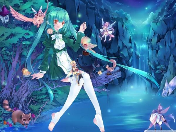 Anime Fairies 4k Hd Desktop Wallpaper Ultra Tv