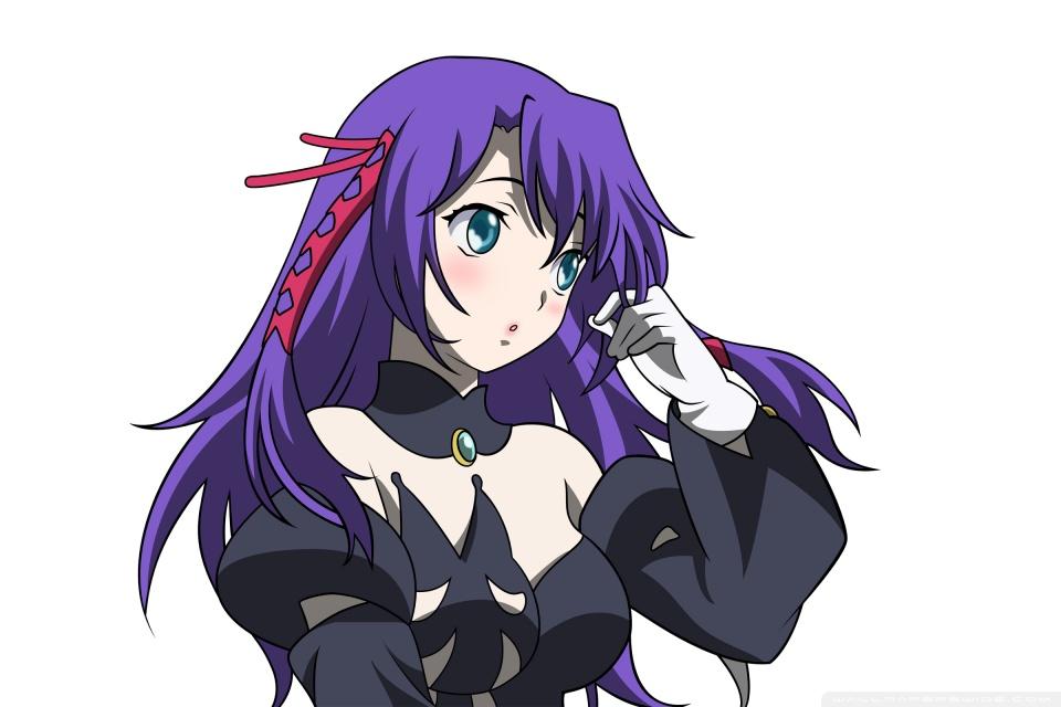 Cocoppa Wallpapers Girl Anime Girl With Purple Hair 4k Hd Desktop Wallpaper For 4k