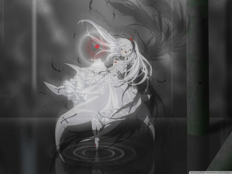 Gothic Girl Wallpaper 640x960 Anime Rose Ultra Hd Desktop Background Wallpaper For 4k