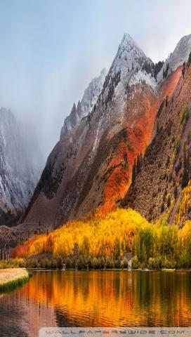 2560x1080 Fall Mountain Wallpaper Apple Mac Os X High Sierra 4k Hd Desktop Wallpaper For 4k