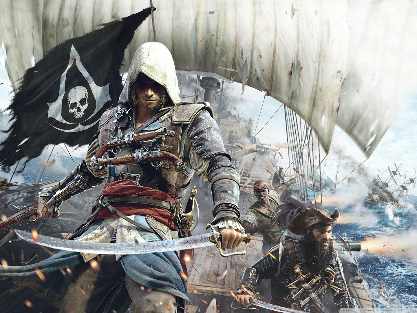 Assassins Creed Wallpaper Black Flag Zendha