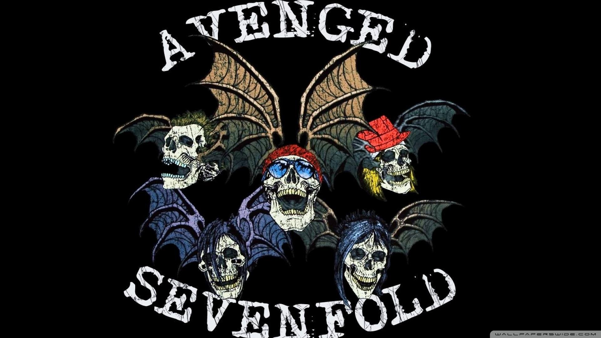 Nirvana Iphone Wallpaper Avenged Sevenfold Logo 4k Hd Desktop Wallpaper For 4k