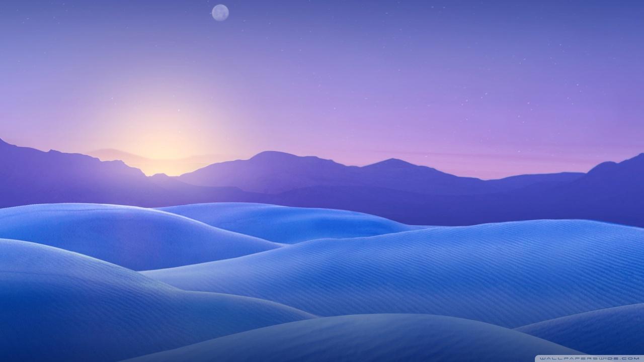 Cool Blue Wallpaper Hd Blue Desert 4k Hd Desktop Wallpaper For 4k Ultra Hd Tv