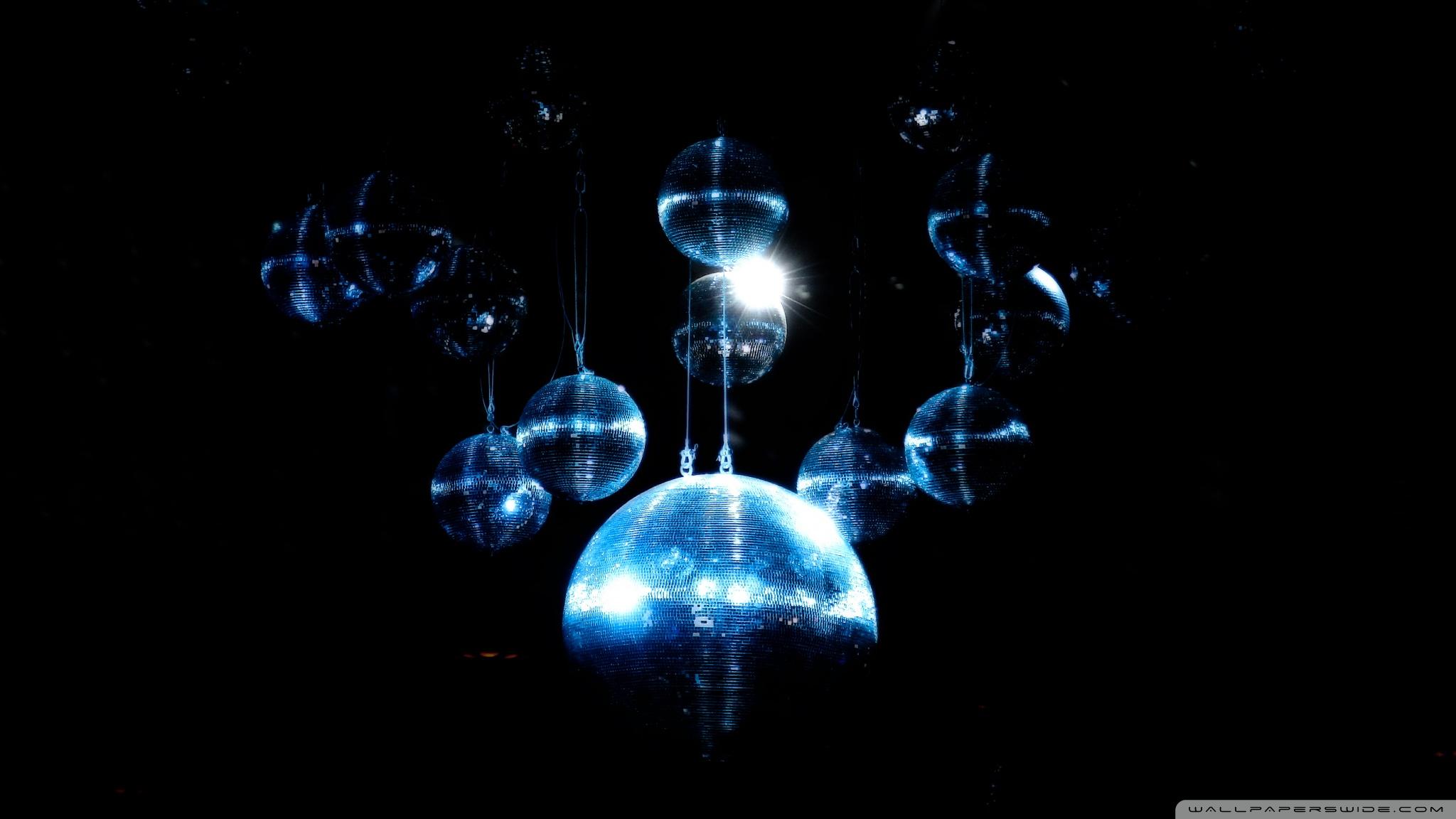 blue disco ball ❤ 4k hd desktop wallpaper for 4k ultra hd tv • wide
