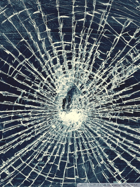 Shattered Iphone X Wallpaper Broken Glass 4k Hd Desktop Wallpaper For 4k Ultra Hd Tv