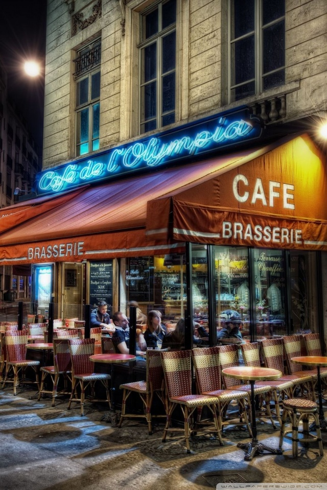 Iphone X Wallpaper Hd 4k Cafe Paris France 4k Hd Desktop Wallpaper For Tablet