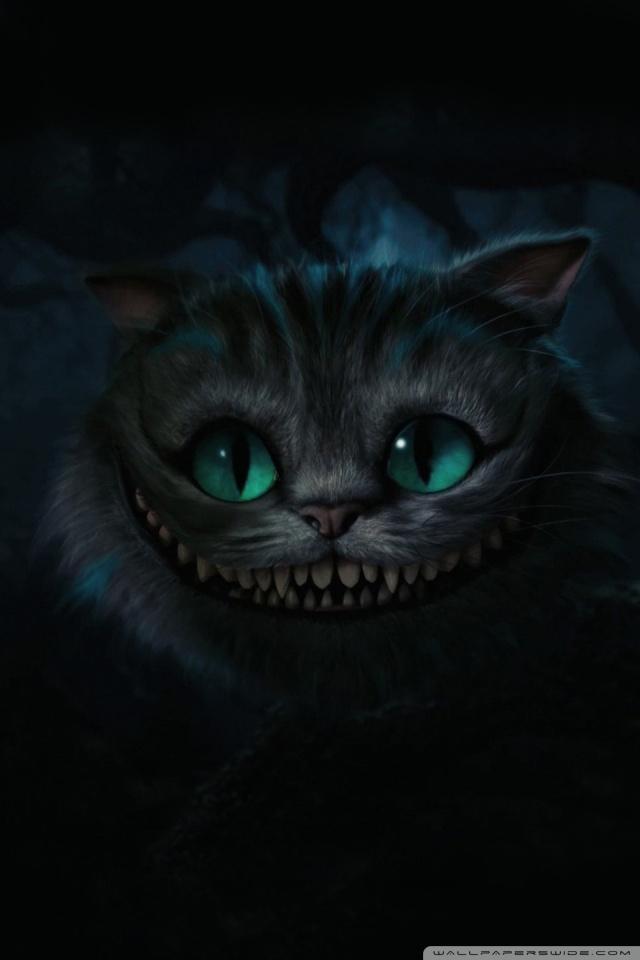 Cute Cat Wallpaper For Mobile Phone Cheshire Cat Alice In Wonderland 4k Hd Desktop Wallpaper