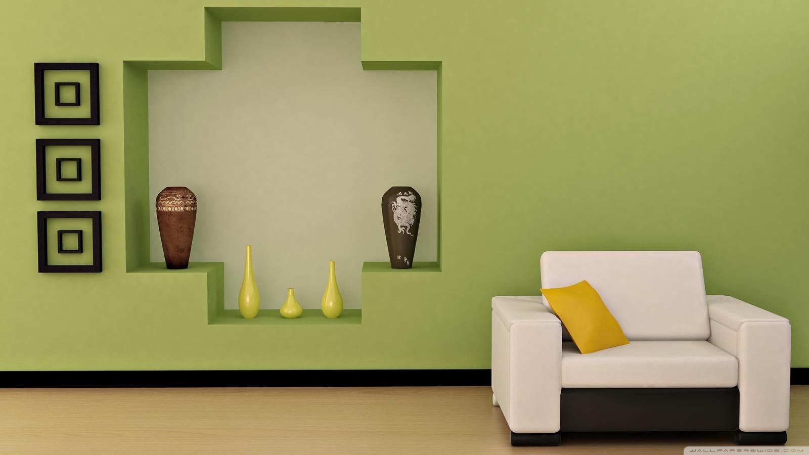 Chic Living Room 4K HD Desktop Wallpaper For 4K Ultra HD