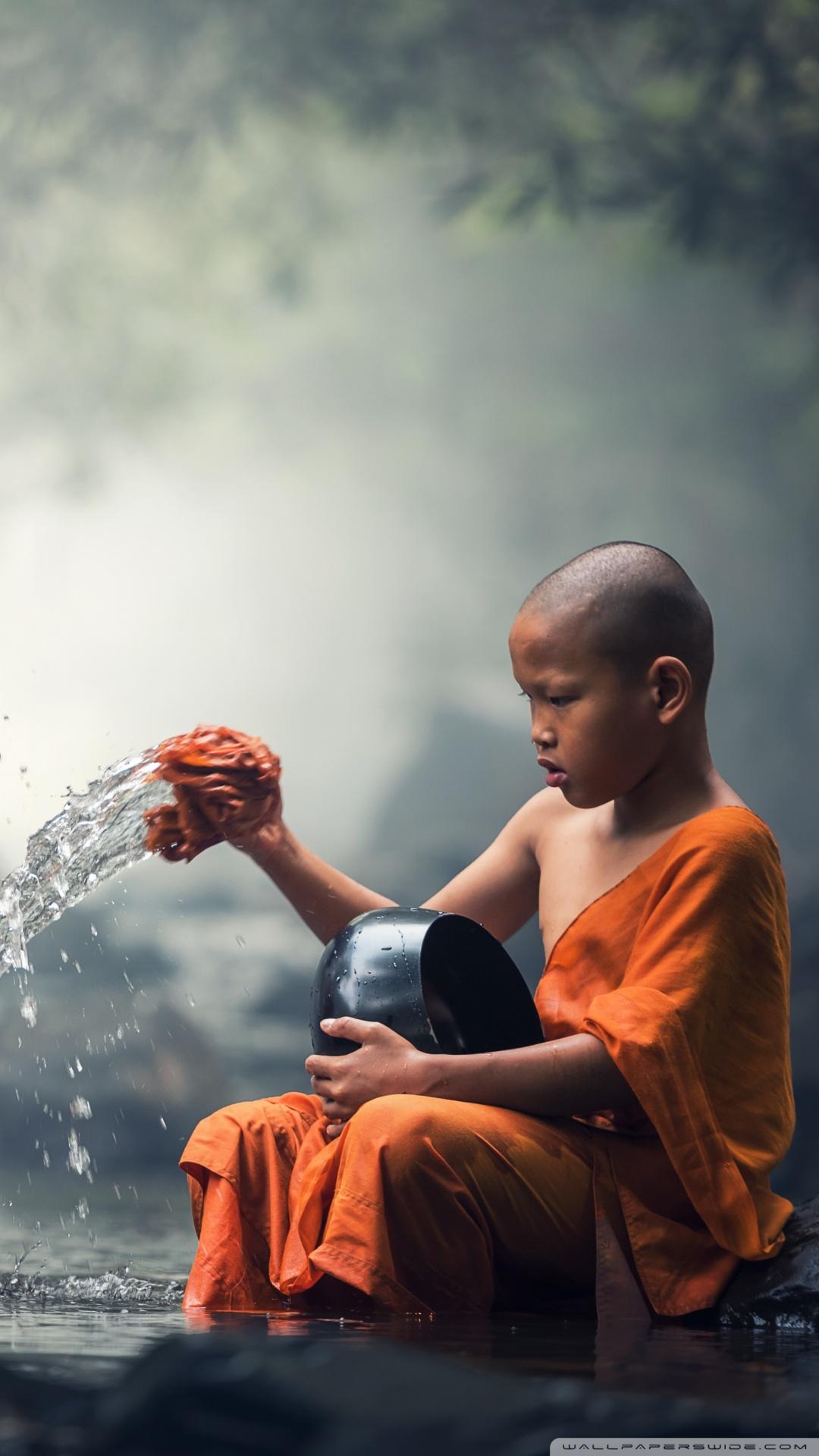 Buddha Wallpaper Hd For Iphone Children Buddhist Monks 4k Hd Desktop Wallpaper For 4k