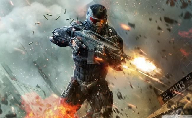 Crysis 2 Shooter Video Game 4k Hd Desktop Wallpaper For 4k