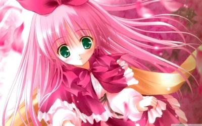 anime cute pink hd wallpapers desktop 4k wide ultra mobile widescreen