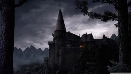 castle dark gothic 4k background castles wallpapers fantasy goth desktop hd night laptop uhd mansion