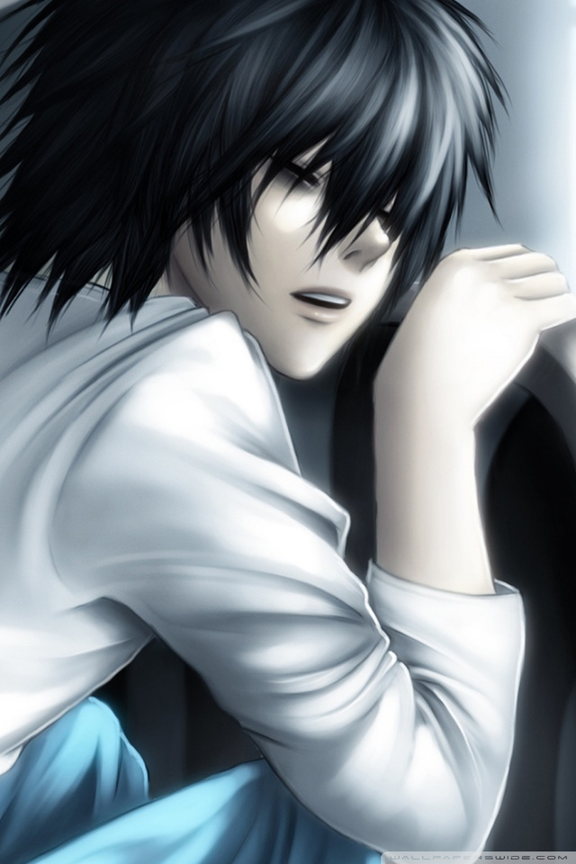 Download Sad Emo Girl Wallpaper Death Note Lawliet 4k Hd Desktop Wallpaper For 4k Ultra