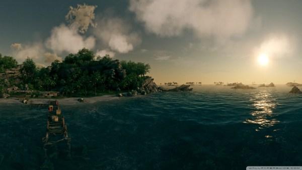 Deep Blue Ocean 4K HD Desktop Wallpaper for 4K Ultra HD TV