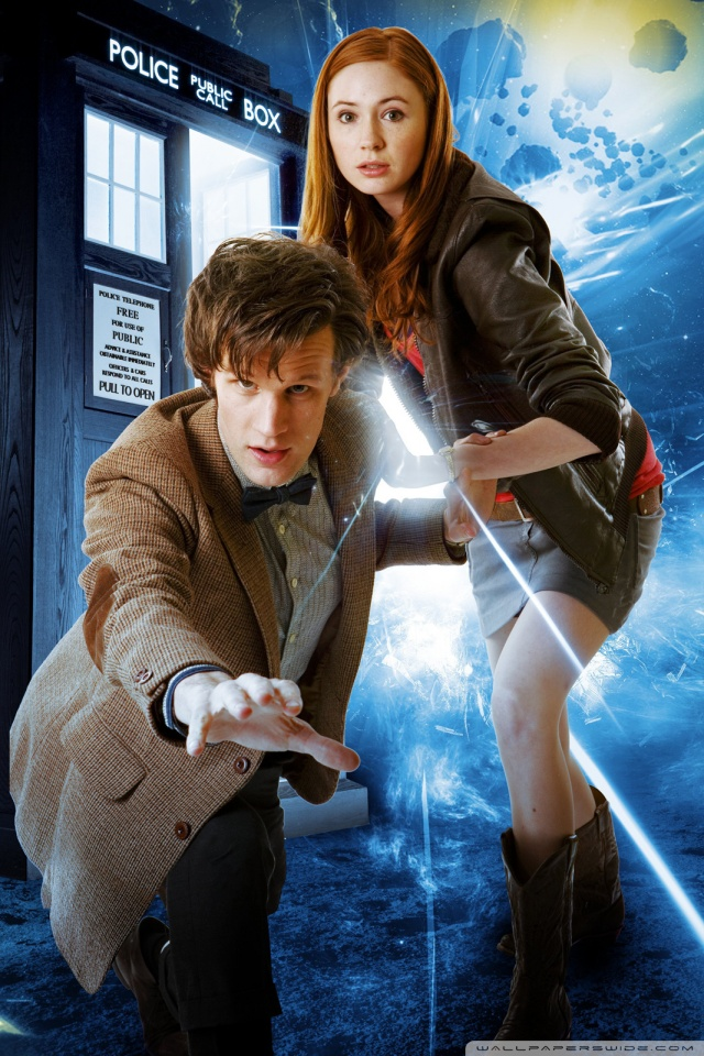 Harley Quinn Wallpaper Iphone Doctor Who Matt Smith And Karen Gillan 4k Hd Desktop