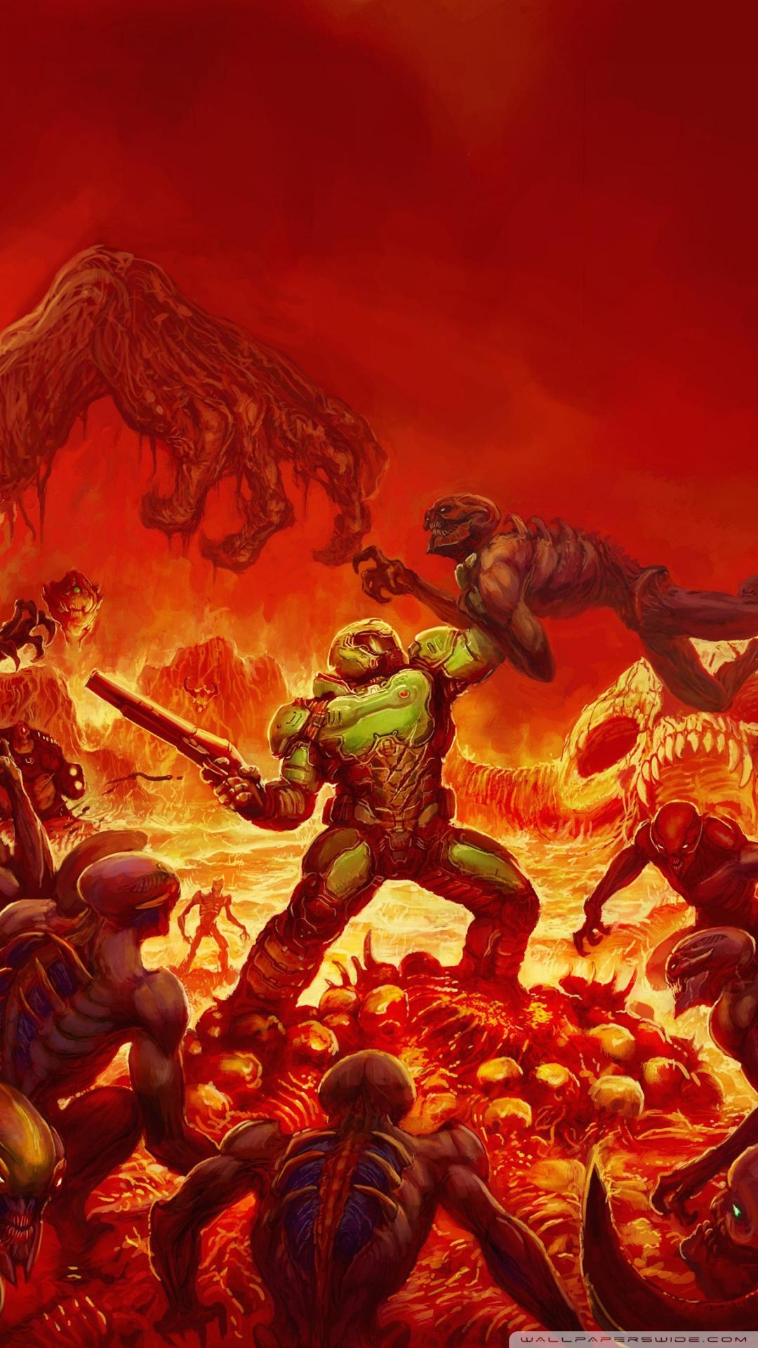 World Of Warcraft Wallpapers Hd Doom 2016 Video Game Hell 4k Hd Desktop Wallpaper For