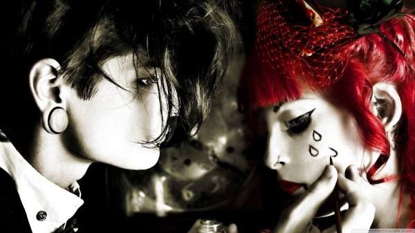 Gothic Emo Couple