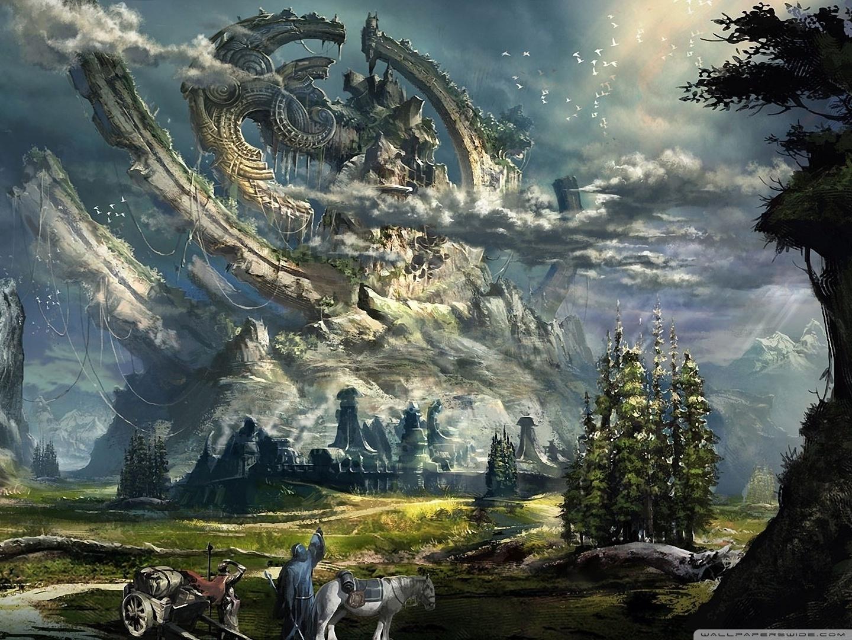 Gravity Falls Wallpaper Forest Fantasy Scenery 4k Hd Desktop Wallpaper For 4k Ultra Hd Tv