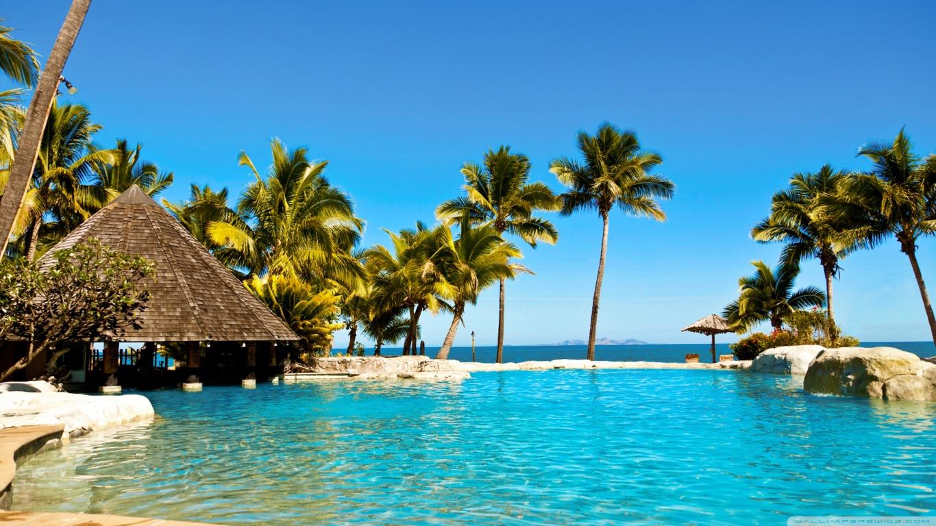 Fiji Resort 4K HD Desktop Wallpaper for 4K Ultra HD TV