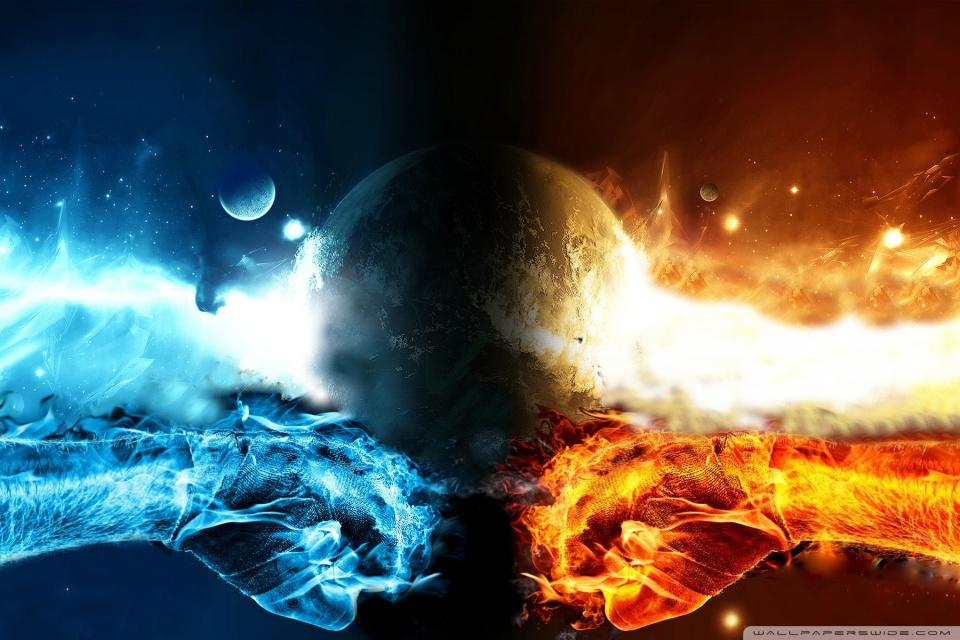 Avatar Aang Wallpaper Hd Fire Vs Water 4k Hd Desktop Wallpaper For 4k Ultra Hd Tv