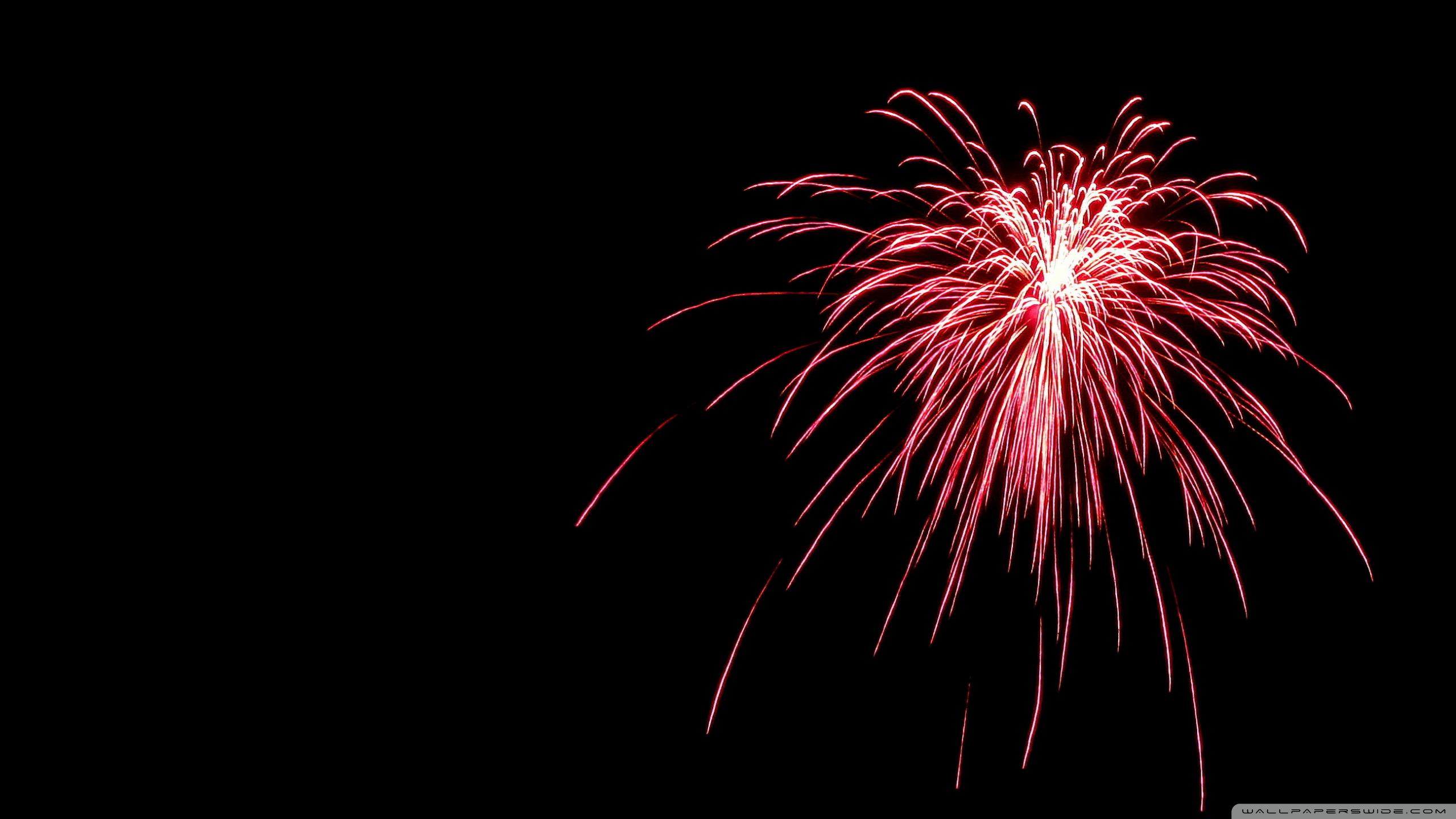 fireworks 4k hd desktop