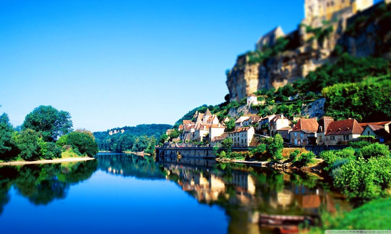 France Tilt-Shift Nature HD desktop wallpaper : Widescreen ...