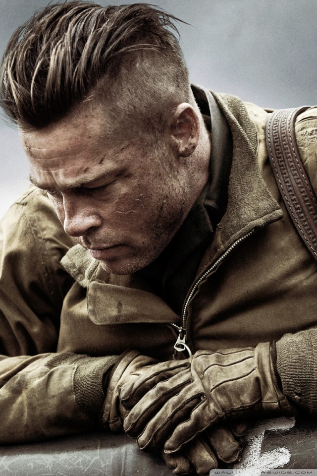Call Of Duty Ww2 Iphone Wallpaper Fury Brad Pitt 4k Hd Desktop Wallpaper For 4k Ultra Hd Tv
