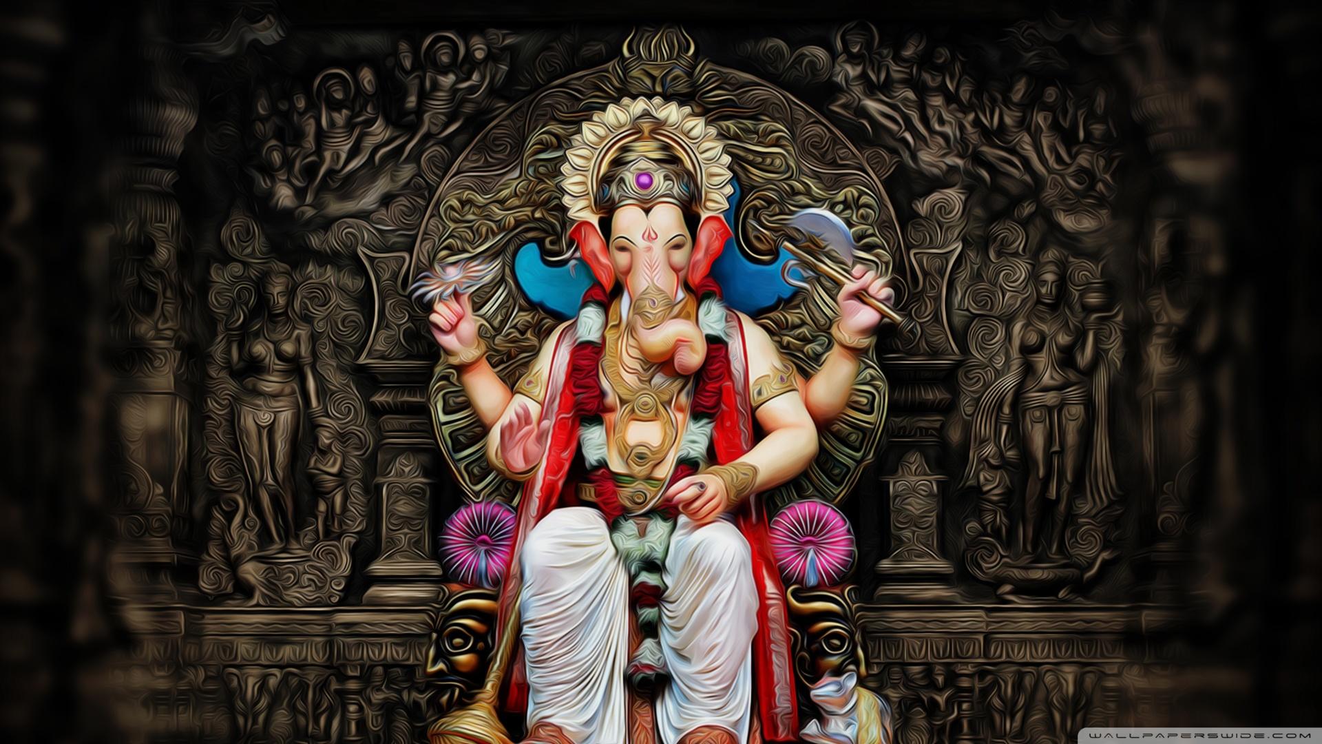 Siddhivinayak Hd Wallpaper Download Ganesha Ultra Hd Desktop Background Wallpaper For 4k Uhd