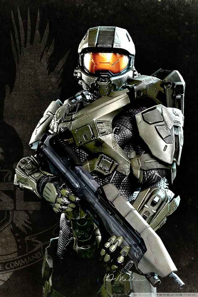 Does Iphone 6 Have Live Wallpaper Master Chief Vs Batman Whowouldwin
