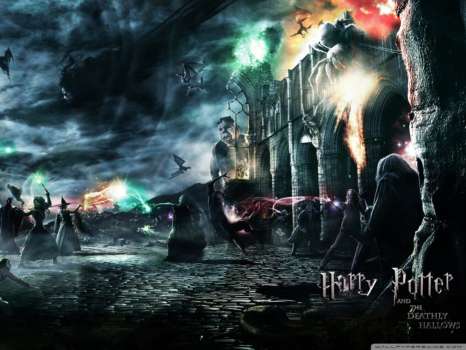 Harry Potter And The Deathly Hallows 4K HD Desktop Wallpaper for 4K Ultra HD TV  Wide  Ultra