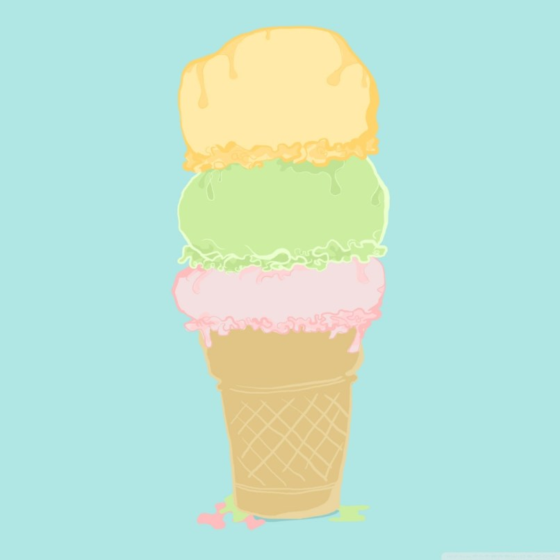 Ice Cream Cartoon 4k Hd Desktop Wallpaper For Ultra Tv