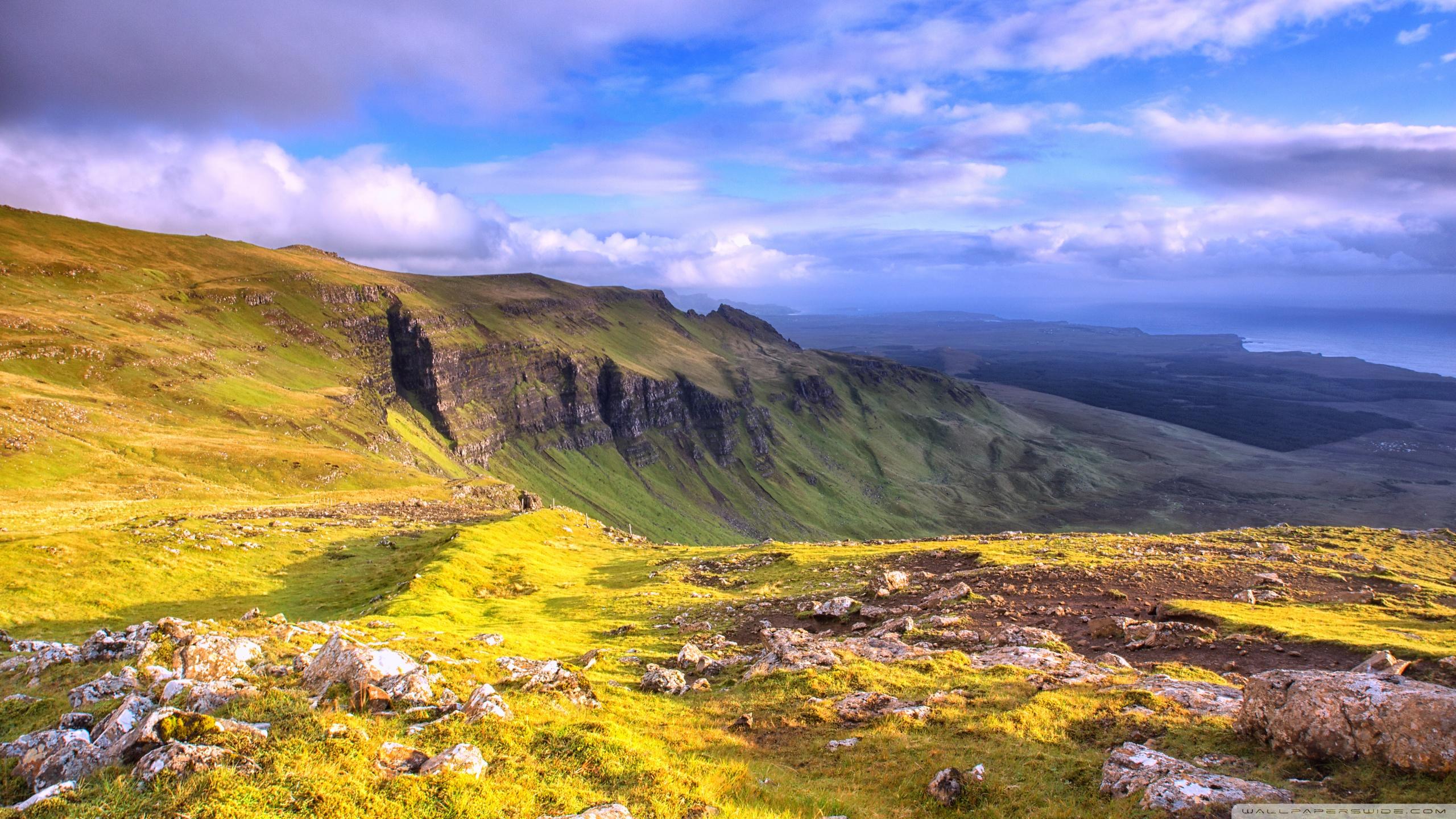 2560x1080 Fall Mountain Wallpaper Isle Of Skye Panoramic View 4k Hd Desktop Wallpaper For