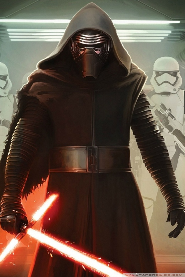Army Iphone X Wallpaper Kylo Ren And First Order Stormtroopers 4k Hd Desktop
