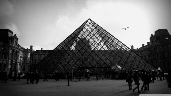 Louvre Pyramid 4k Hd Desktop Wallpaper Ultra Tv
