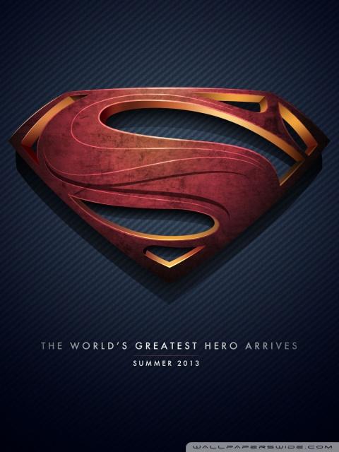 Superhero Wallpaper Iphone X Man Of Steel Logo 4k Hd Desktop Wallpaper For 4k Ultra Hd