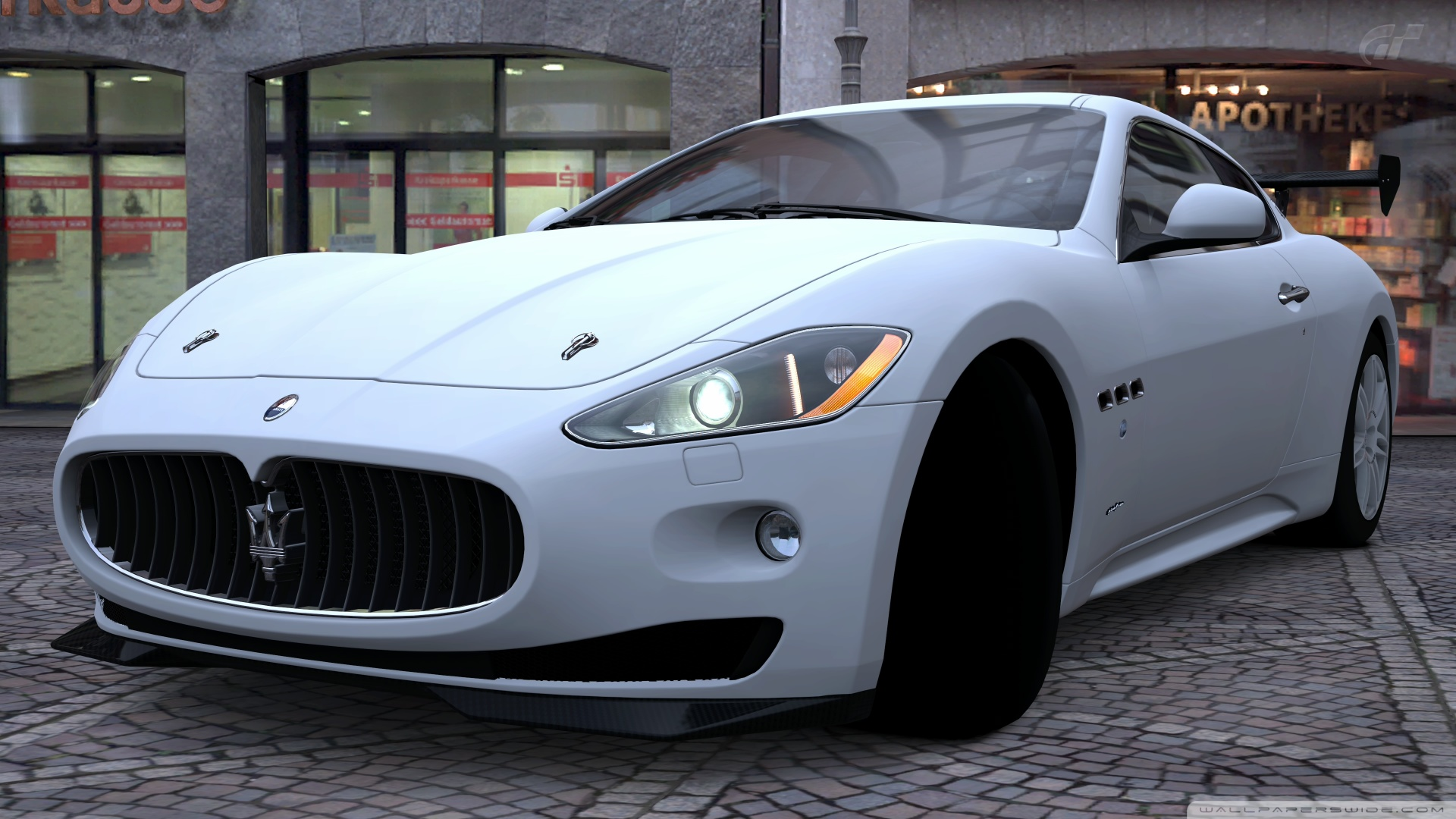 Maserati GranTurismo 4K HD Desktop Wallpaper For 4K Ultra