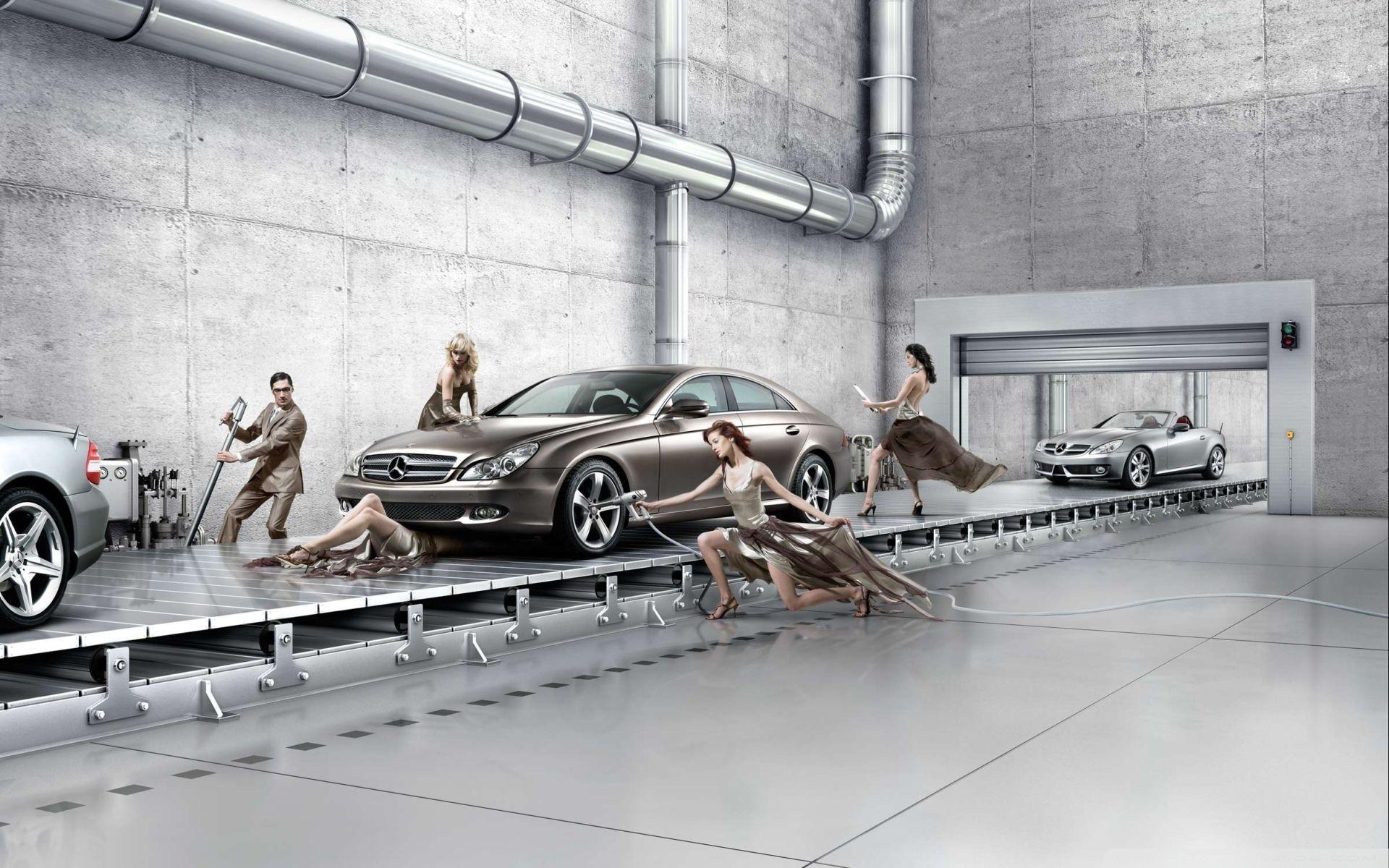 Car Mobile Wallpapers 240x320 Mercedes Benz Assembly Line 4k Hd Desktop Wallpaper For 4k
