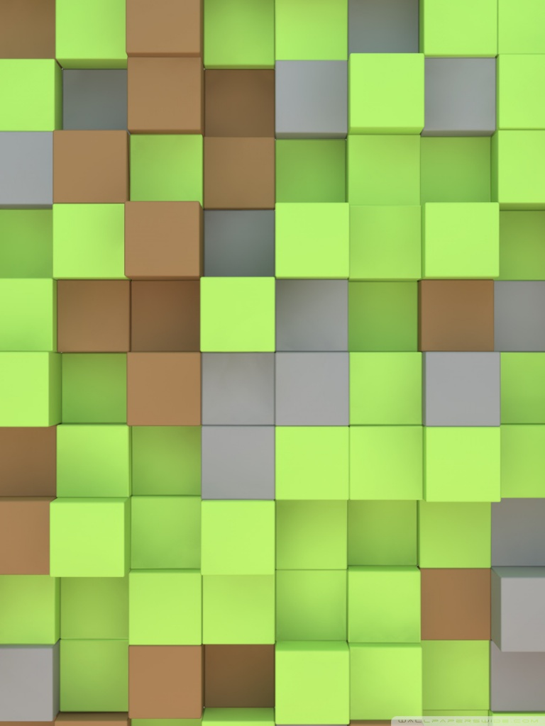 Animated Wallpaper For Mobile Phone Gif Minecraft Cubes 4k Hd Desktop Wallpaper For 4k Ultra Hd Tv
