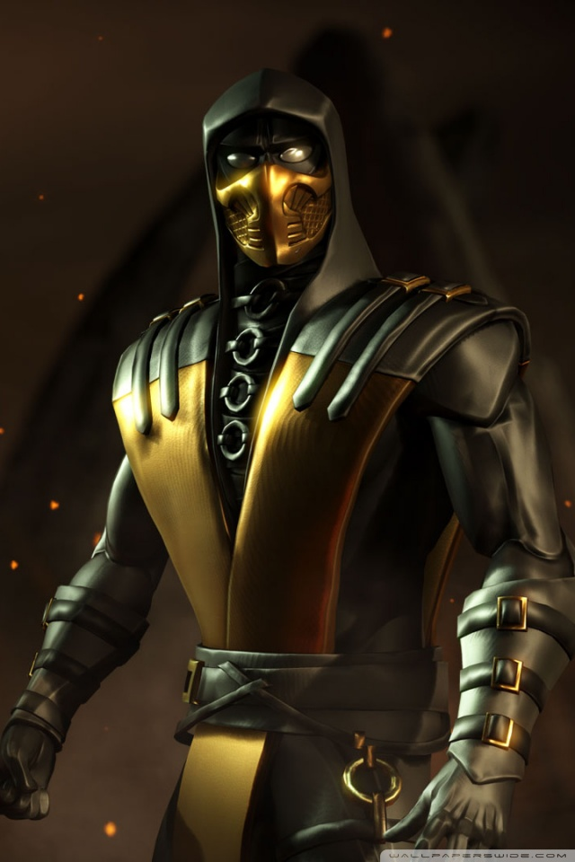 Sub Zero Mortal Kombat X Iphone Wallpaper Mortal Kombat X Game Scorpion 4k Hd Desktop Wallpaper For
