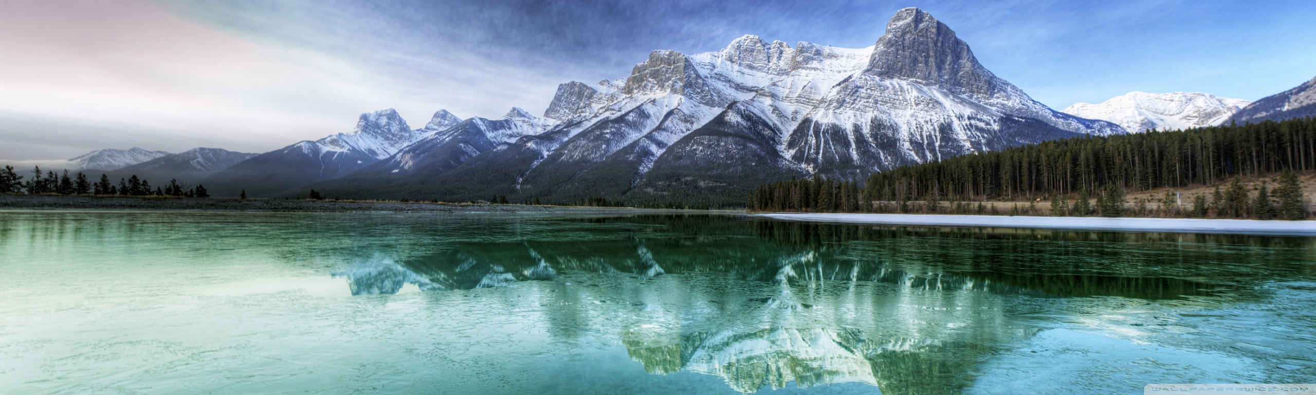 Fall Dual Monitor Wallpaper Mountain Lake Scenery 4k Hd Desktop Wallpaper For 4k Ultra