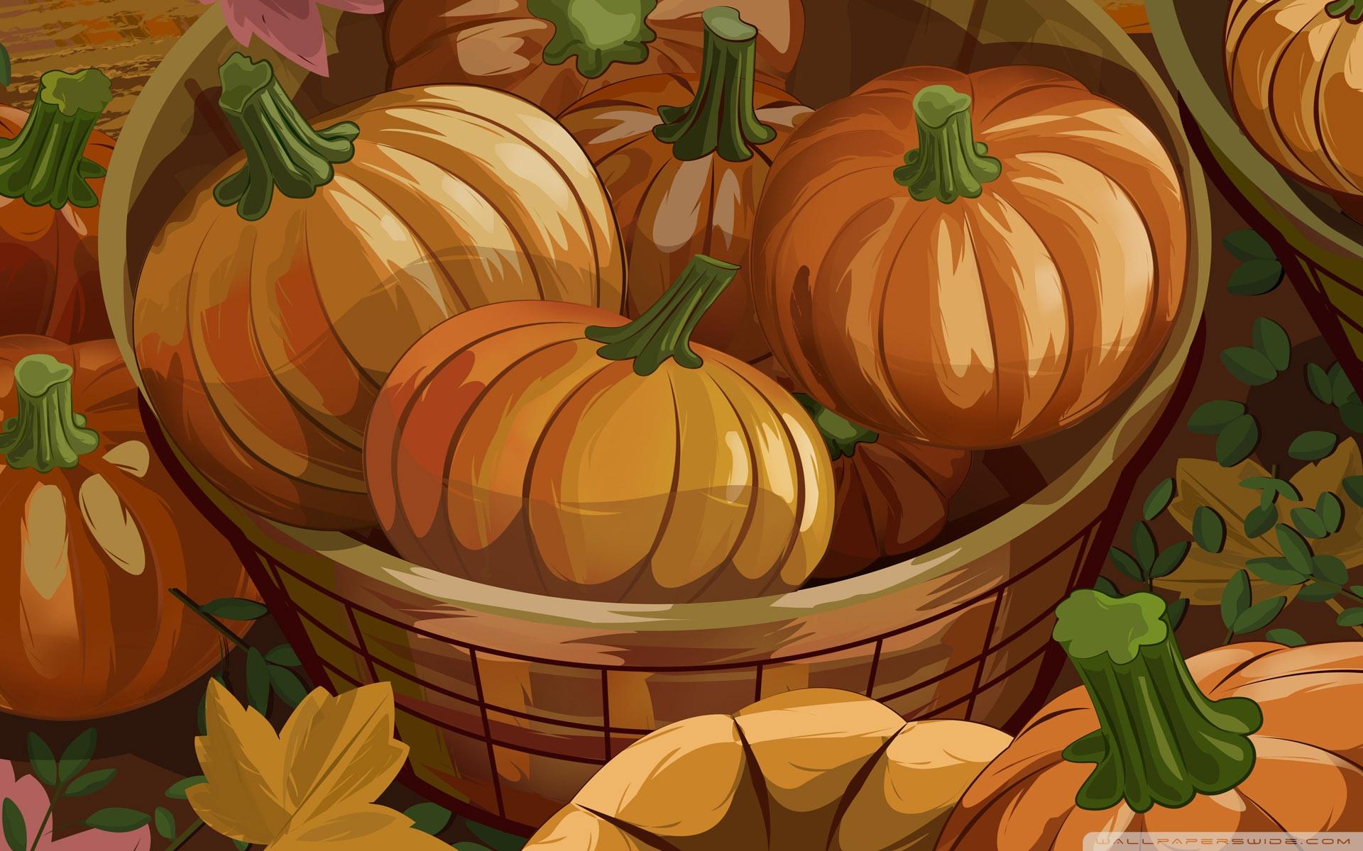 Fall Harvest Wallpaper Backgrounds Orange Pumpkins Halloween Autumn 4k Hd Desktop Wallpaper