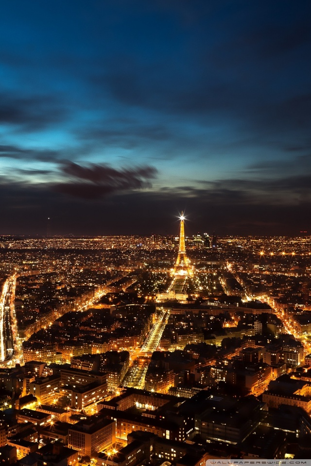 Night Sky Wallpaper Iphone X Paris City Lights 4k Hd Desktop Wallpaper For 4k Ultra Hd Tv