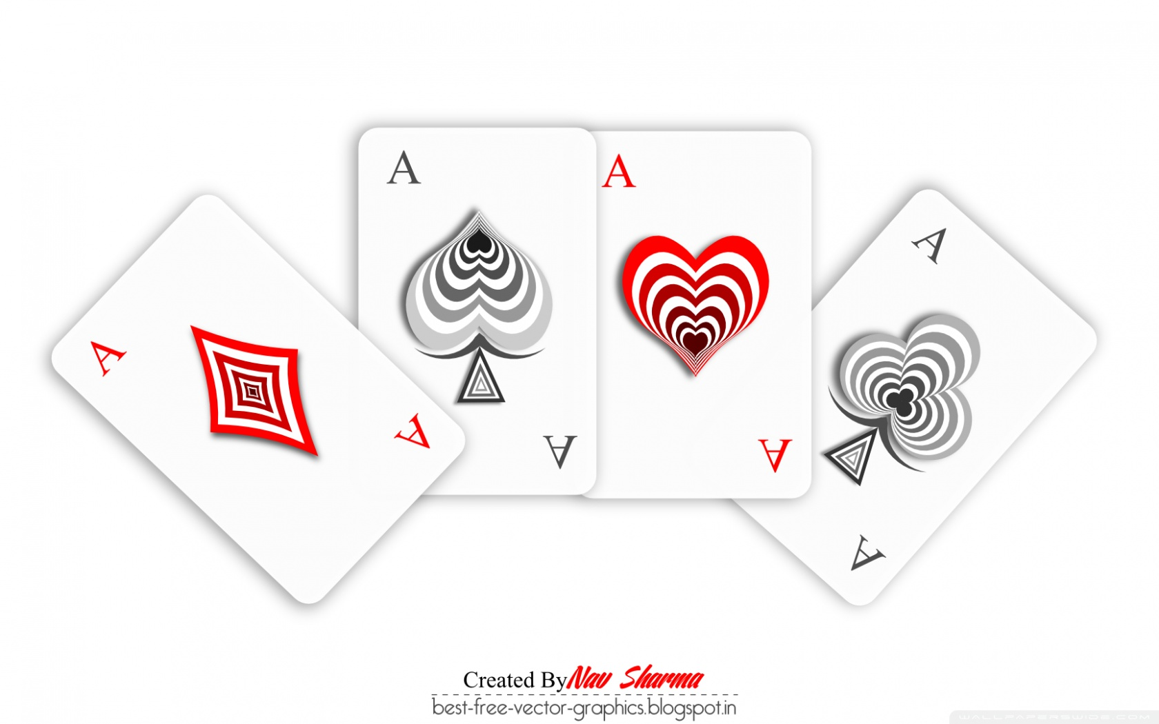 Poker Cards 4K HD Desktop Wallpaper for 4K Ultra HD TV